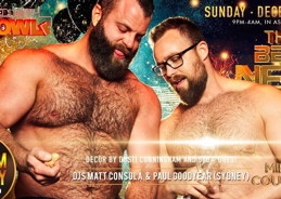Massive, Bearracuda, and New Queer's Eve: the best parties to ring in NYE18