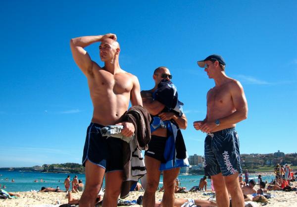 Gay beach gallipoli, apulia