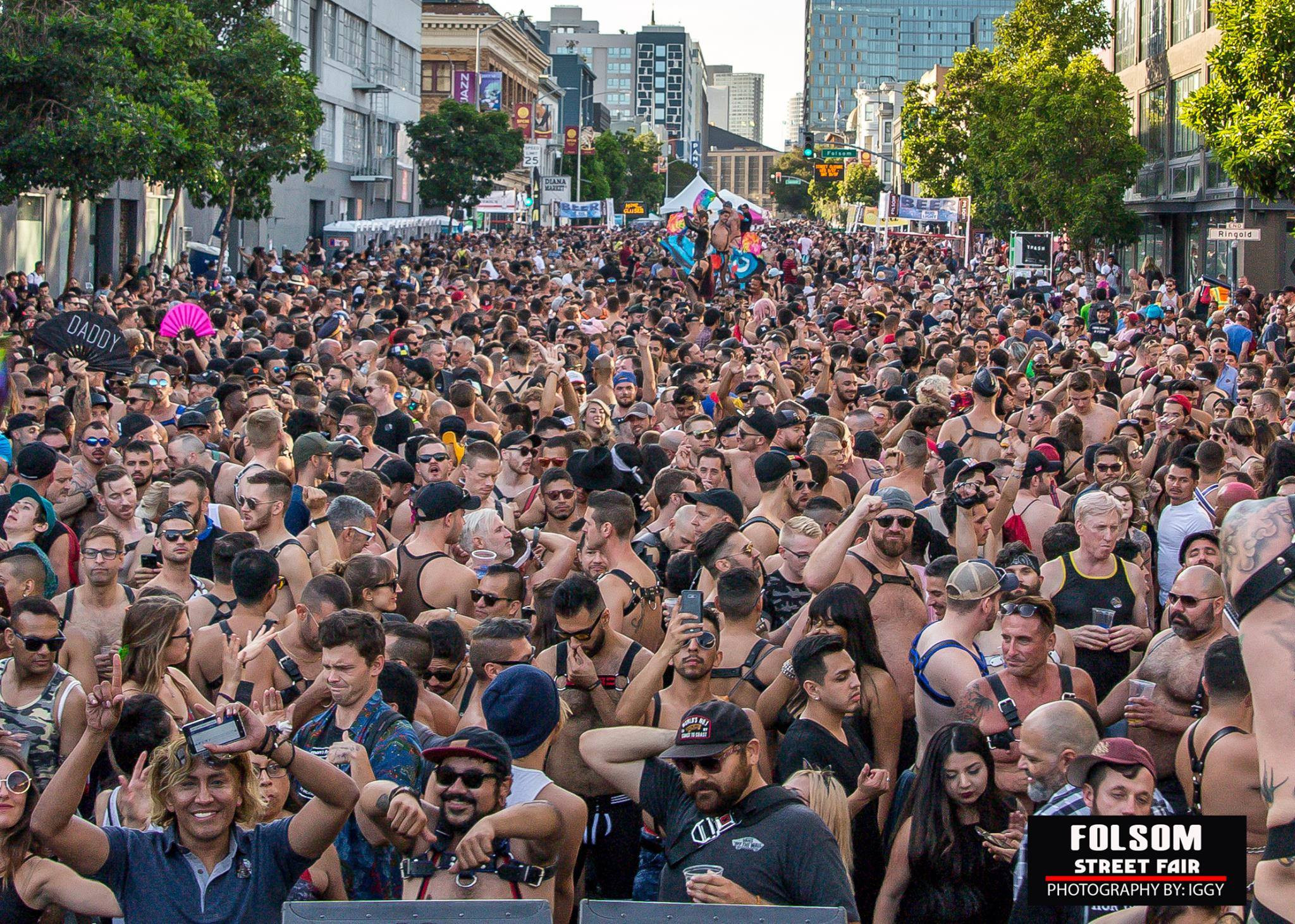 Yes sir! Folsom Street Fair and 5 events of the fall party season
